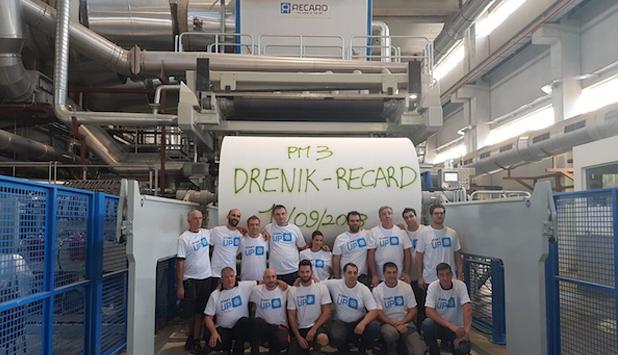 New successfull startup of Recard turnkey plant for Drenik ND Serbia