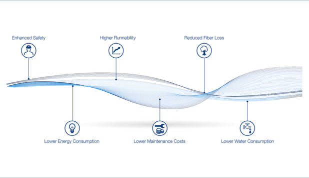 BlueLine technology convinces Lucart with significant increase in production capacity and energy savings