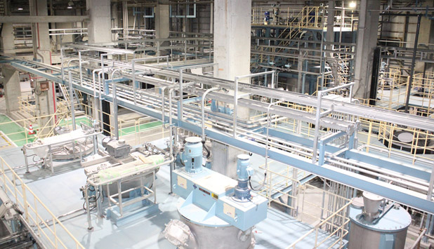 "Nippon Paper Industries completed constructing a Demonstration Plant for new Functional Materials ""MinerPa®"""