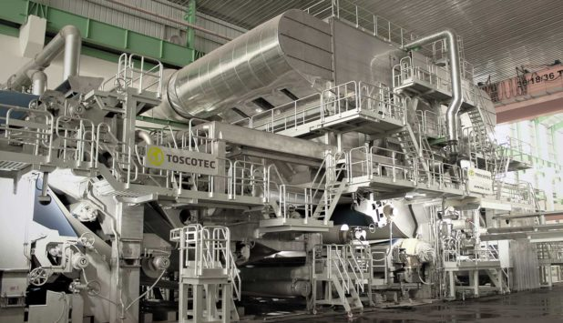 Four Toscotec-supplied AHEAD-2.0L PRODERGY tissue machines began production at Asia Pulp and Paper's OKI mill in Indonesia