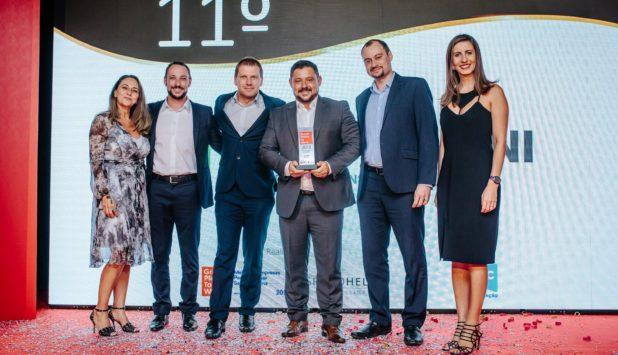 Fabio Perini Brazil wins the Best Companies to Work prize