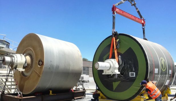 Toscotec's Steel Yankee Dryer TT SYD starts up at CMPC in Argentina