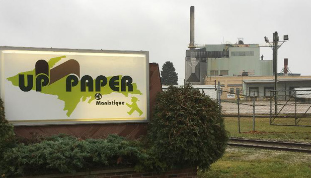 UP Paper in Michigan prepares for the future with Private and Public Investment