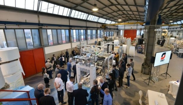 """OMET Folding Experience"": the high technology open house for tissue"