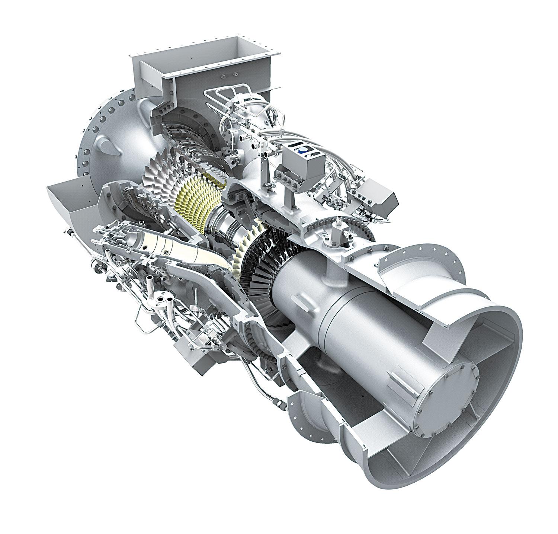 газовая турбина с картинками