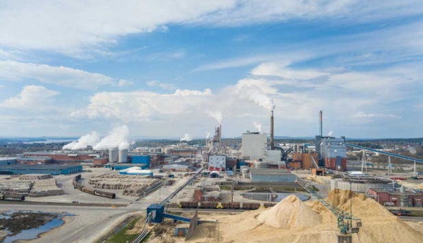 Smurfit Kappa takes a step forward to further drive down emissions at Pitea Paper Mill