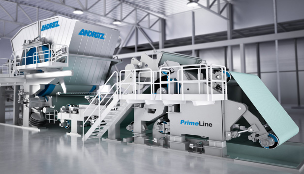 ANDRITZ to supply a PrimeLineECO tissue machine with two stock preparation lines to Xuan Mai Paper in Vietnam