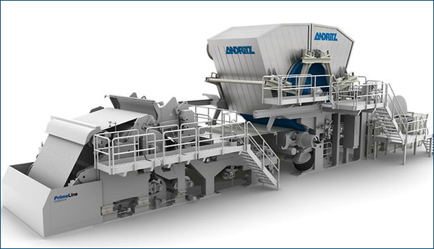 ANDRITZ to supply to MG TEC Industry two tissue production lines with stock preparation