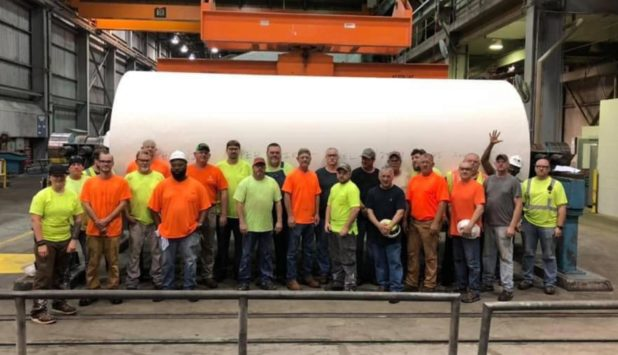 Phoenix Paper is officially operating in Wickliffe with first roll complete