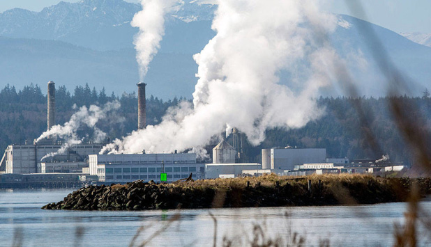 Port Townsend Paper Corporation settled with EPA for violation of Clean Air Act
