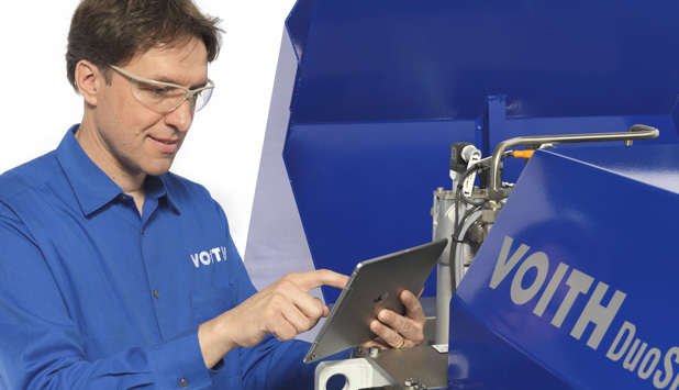 Voith is ready for the future of papermaking with DuoShake Digital Generation