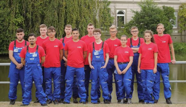 19 new apprentices at Mitsubishi HiTec Paper