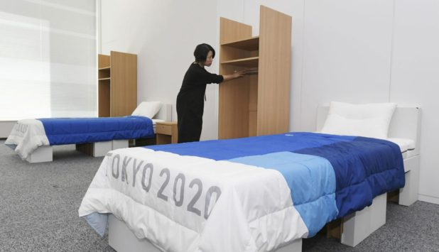 Tokyo 2020: Recycled cardboard used for beds at Olympics and Paralympics