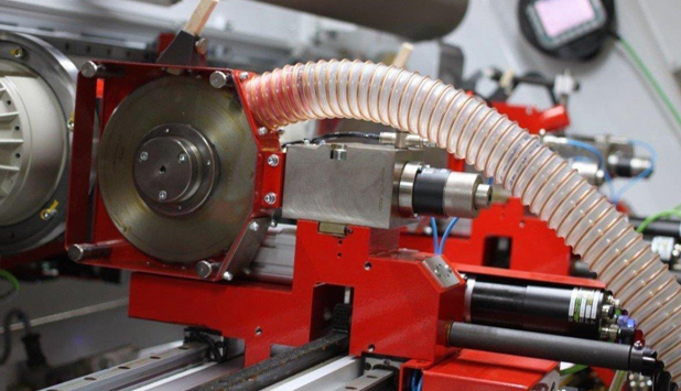 A.Celli Dust Removal System, slitting dust is a problem of the past