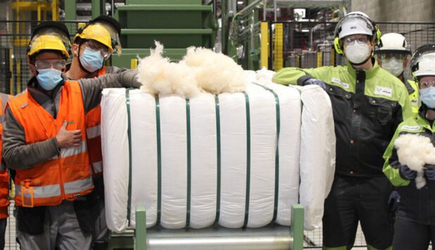 Metsä Spring starts production at textile fibre plant