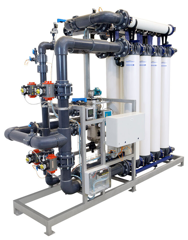 Ultrafiltration plant Mexico Paper Mill.