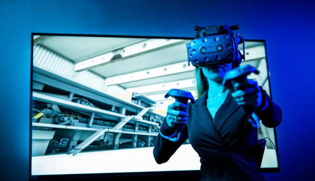 Voith successfully commissions its first virtual reality training system worldwide at LEIPA