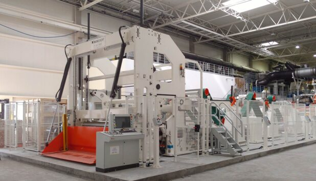 Tecno Paper has supplied to Filar one tissue slitter rewinder