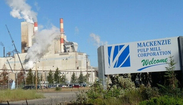 Paper Excellence announces the permanent closure of Mackenzie Pulp Mill