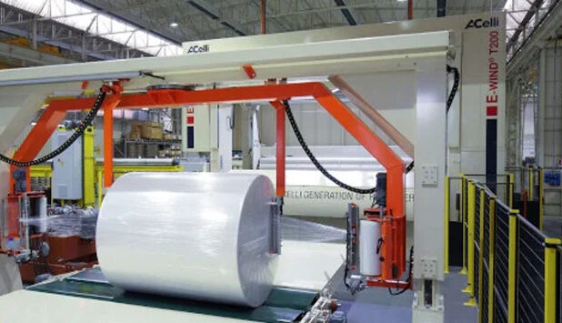 Preserve the quality of paper, tissue and nonwoven reels thanks to automated packaging