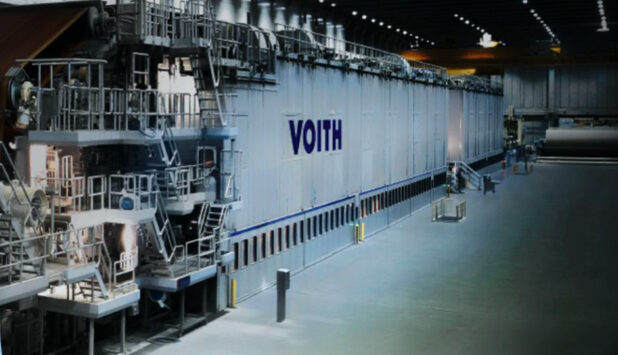 Voith receives order to supply a complete board production line to Asia Symbol (Jiangsu) in China