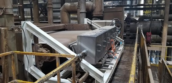 ProJet and Tolko install 2 Full Width high pressure belt cleaners (Eco4000)
