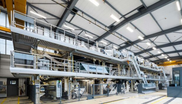 Voith sets course for development of sustainable packaging papers with world's most modern pilot coater