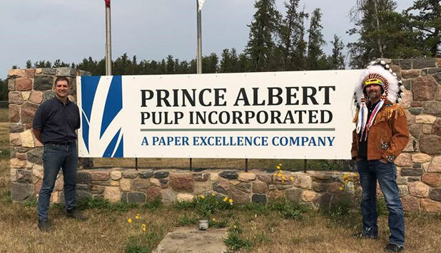 Cumberland Wood Products sign Letter of Understanding with Prince Albert Pulp Inc.