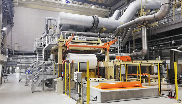 Toscotec starts up new tissue machine at Marutomi in Japan